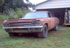 1965 Chevrolet Impala NASCAR Race Car Barn