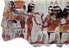From the tomb of Nebamen and Ipuki, Thebes - British Museum - Source: excerpt from 'Ancient Egypt', Time-Life Books