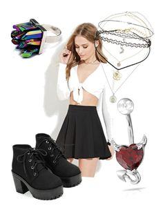 """""""Untitled #47"""" by missnightshine on Polyvore featuring Forever 21, Miss Selfridge and Bling Jewelry"""