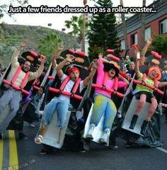 Roller coaster Stag Fancy Dress - http://www.stagandhenbirmingham.co.uk/
