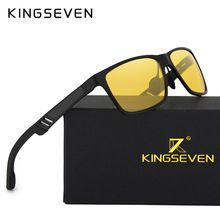 212d21a5f3b KINGSEVEN Aluminum Polarized Night vision Sunglasses Men Square Sun Glasses  Driving Sunglasses Goggle Eyewear oculos de sol - Tshirt and Jeans Store
