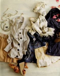 cozy sweaters and endless scarves