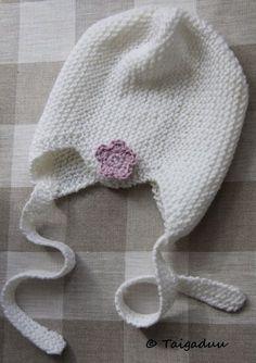 Taigaduu: Vauvan neulottu myssy