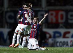 Buffa de rodillas, Campeón de la Libertadores