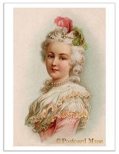 Love Her!!! .@@@@......http://www.pinterest.com/caroleminiature/histoire-de-femmes/