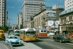 Los Angeles Area, Downtown Los Angeles, Old Pictures, Old Photos, Cities, California Dreamin', California History, Los Angeles County, Us Cars