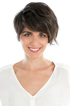 Cropped Haircut with Ombre Color Front