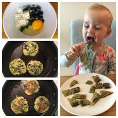 Best breakfast ideas for toddlers baby spinach muffins Ideas Blw Breakfast Ideas, Baby Breakfast, Breakfast For A Crowd, Birthday Breakfast, Breakfast Recipes, Breakfast Muffins, Children Breakfast, Blueberry Recipes For Baby, Baby Food Recipes