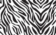 Zebra Print Vetor grátis