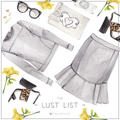 THE LUST LIST | The dream team #whitesuede #thelustlist #tabithasimmons Tap for details