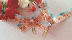 Seashell and Starfish Planner Bow or Flag by DixiePlannerDesigns on Etsy