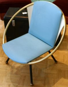 Mid Century Modern Hula Hoop Chair