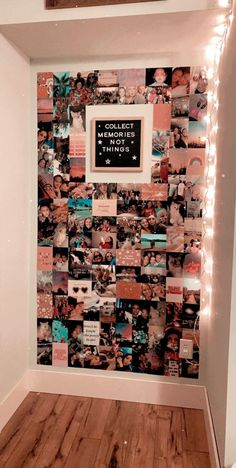 Diy Wall Decor For Bedroom, Bedroom Decor For Teen Girls, Teen Room Decor, Room Ideas Bedroom, Bedroom Inspo, Diy Room Ideas, Cute Diy Room Decor, Bedroom Wall Collage, Teen Girl Rooms