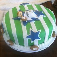 Amazing Dallas Cowboys Baby Shower Cake   Baby Shower Cake