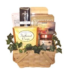 Picnic Gift Basket designed by Thoughtful Expressions Gift Baskets Canada.