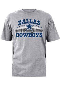 84d96f9751b85 Cowboys Mens Grey Skyline Tee Dallas Cowboys Store, Dallas Cowboys Gear,  Cowboys Gifts,