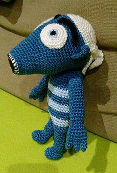 Hihlík - Lichozrouti Crochet Toys, Dinosaur Stuffed Animal, Knitting, Animals, Decor, Stud Earrings, Animales, Decoration, Tricot