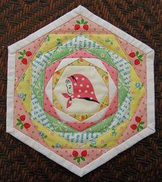 Kerchief Girl Coaster/Trivet   Flickr - Photo Sharing!