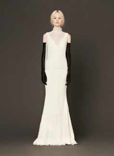 Wedding dresses from Vera Wang's Spring 2014 bridal collection in Junebug's wedding dress gallery Wedding Dress Gallery, Wedding Dresses 2014, Designer Wedding Dresses, Bridal Dresses, Wedding Gowns, 1920s Wedding, Wedding Ideas, Wedding Bride, Dream Wedding