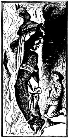 [Illustration] from The Arabian Nights by Andrew Lang