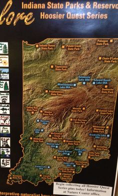 Indiana state parks Travel Bucket List Wanderlust Before I die @ashmckni https://www.pinterest.com/ashmckni/