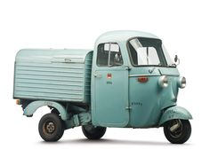 1963 Vespa Ape - being sold without reserve at RM Auctions' sale in Feb. How cute is this!! LOVE