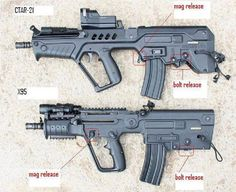 IWI tavor and x95