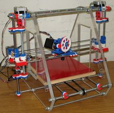 3ders.org - Vision 3D Printer - an optimized RepRap Prusa Mendel on Kickstarter   3D Printing news