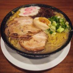 A las 20 empezamos a servir boles como este en #ramenkagura... #Repost @tortoluis Ramen paradisiaco... #ramen #ramennoodles #ramenkagura #kagura #food #foodporn #foodie #foodstagram #foodpics #igersmadrid #spain #madrid #japanesefood