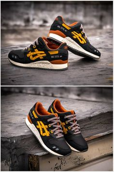 "Asics Gel Lyte III ""Black / Tan"""