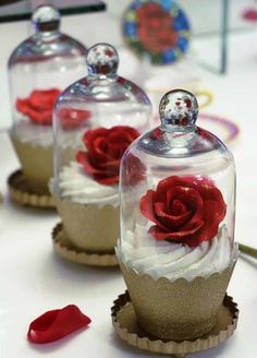 DOCES FESTA A BELA E A FERA...BEAUTY AND THE BEAST BIRTHDAY PARTY IDEAS