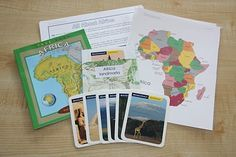 Continent Bag--Africa from counting coconuts