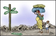 somali piracy cartoon - Google zoeken Lisa S, Somali, Staying Alive, Wake Up, Freedom, War, Humor, Painting, Fictional Characters