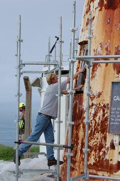 Cape Brett lighthouse restoration