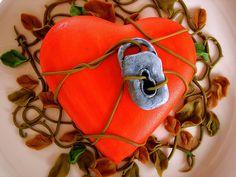 St Valentines' cake