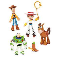 Disney Store Disney Pixar Toybox Toy Story Action Figures 8bac7e1c4e9