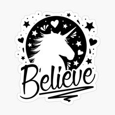 Believe, Finding Yourself, Cricut, My Arts, Symbols, Calligraphy, Stickers, Art Prints, Black And White