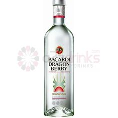 Bacardi Dragonberry - Dragonberry flavoured Rum Rhum Ron - 70cl