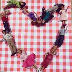 Lundby love in the family creates team work in the Lundby Doll House