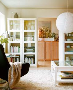 Cómo organizar una Biblioteca en el Living Room - Sala de Estar - Salon : Decorando Mejor