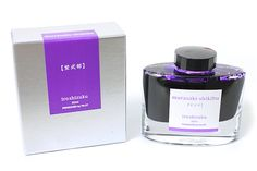 Pilot Iroshizuku Fountain Pen Ink - 50 ml Bottle - Murasaki-Shikibu Lady Murasaki (Bluish Purple) - PILOT INK-50-MS