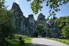 Die Externsteine - mystische Stätte im Teutoburger Wald   Traumland Deutschland