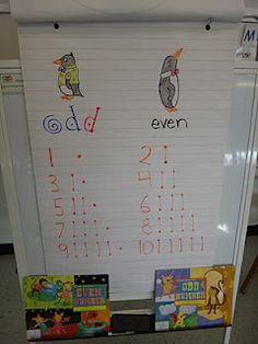 First Grade Garden: Math Freebie! {Even and Odd Number Sort}