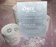 Vienna's Winter Onederland Ball | Winter Wonderland. First Birthday Party