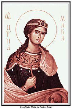 St Maria Passion Bearer