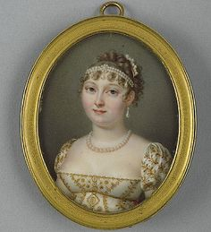 1807 Catherine, Queen of Westphalia in manner of Jean Baptiste Jacques Augustin (Wallace Collection - London UK) FDxMinnie 14Jan12