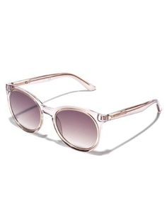 91a92ce8995 53mm Round Logo Etched Sunglasses