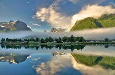 Åndalsnes Camping #Norway ·Noruega