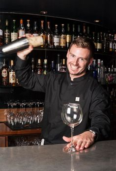 Tomas Kreml, the magician behind our new Halloween 'Eyeball Cocktail' - want to try it? limited availability, ask our Inn on the Green team before November Halloween Eyeballs, Spooky Decor, November 2015, The Magicians, Dublin, Cocktails, Green, Craft Cocktails, Cocktail