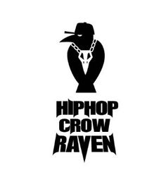 Hiphop crow RAVEN  character brand identity emblum -designed by DOLDOL